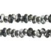 Bow Beads (Farfalle) 3.2x6.5mm Grey Labrador Transparent